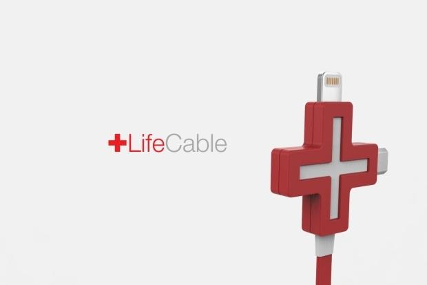 把别人的手机变成自己的充电宝,LifeCable电力分享线