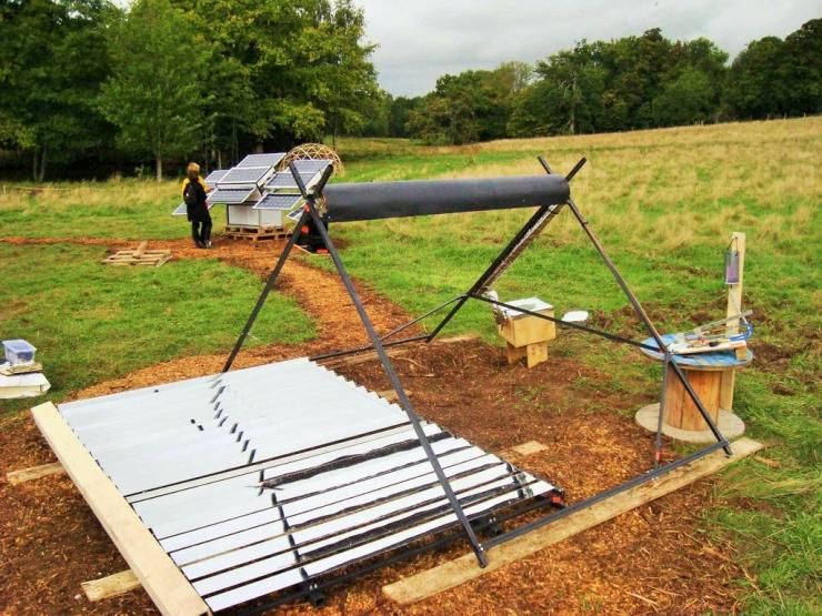 节约能源:DIY一个太阳能集热器装屋顶