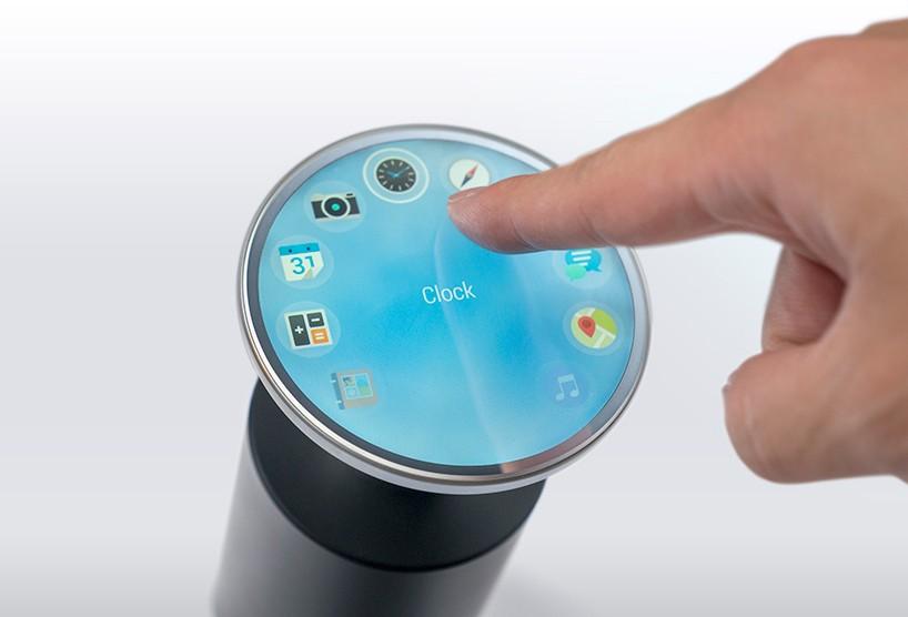 液晶显示屏几可以制作成任何形状,获得日本GOOD DESIGN 最佳100名大奖