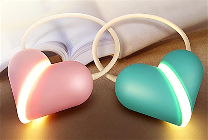 USB Heart Lamp 爱心灯  小而美,可自由变换造型