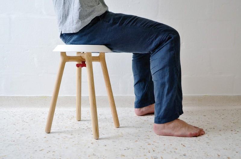 Yodeeza-可以装进盒子里的凳子