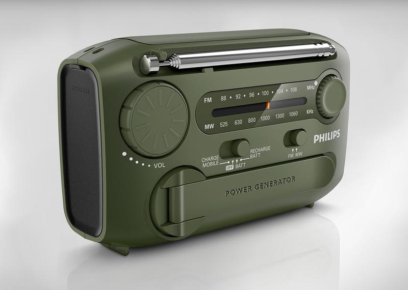飞利浦便携式无线电设备
