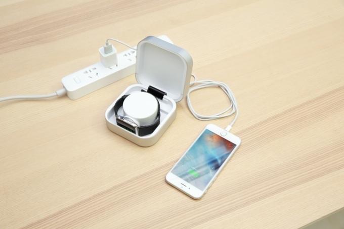 你的 Apple Watch 就差这样一款高颜值配件Amber 充电盒