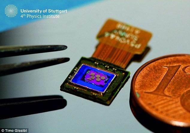 世界最小相机镜头诞生,仅头发丝两倍宽度