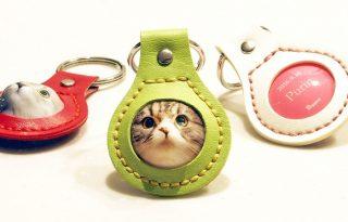 日本3D猫咪钥匙圈,设计你与毛小孩的定情物