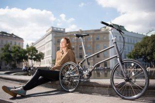 VELLO BIKE+能自发电的折叠电动自行车