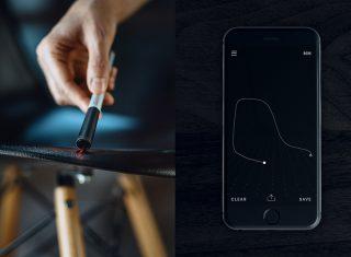 """世界上最便携的笔形3D曲线扫描仪instruments """"01"""""""