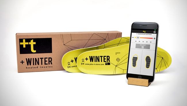 +Winter heated insoles  加热鞋垫让你打从脚底温暖起来