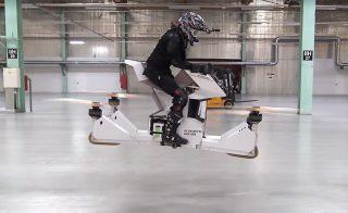能载人的无人机座驾Scorpion-3