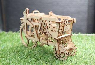 UGEARS自走拖拉机,看着亲手组装的齿轮运转就是疗愈!