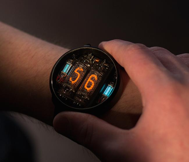 80年代的浪漫,NIWA真空管手錶:燃起你心中的蒸汽龐克魂