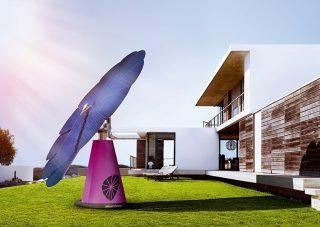 时刻跟随太阳转动的太阳能发电系统Smartflower Pop