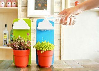 滴答滴答,让雨云帮你的小盆栽浇水