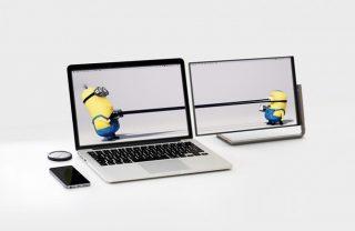 是的,这可能是电脑史上最优雅时尚的外接屏幕了!