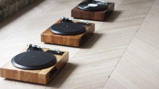 黑胶文化复苏:无线多功能手工实木黑胶音响