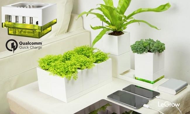 像乐高一样堆叠、组装,LeGrow智能盆栽轻松打造室内庭园生态系