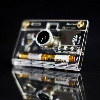 CROZ透明数码相机超薄机身逼格十足