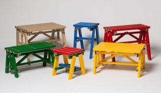 五颜六色自由搭!韩国PESI重新诠释厚纸板家具