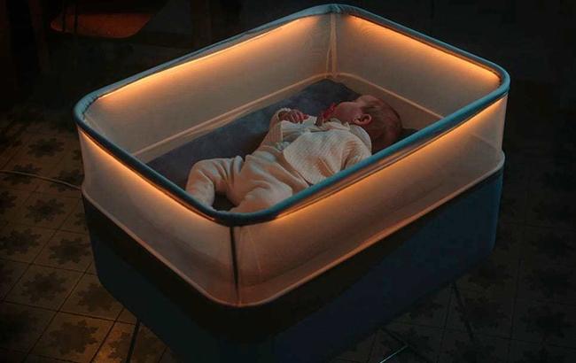 Max Motor Dreams智能婴儿床,彷汽车震动感让baby一觉好眠!