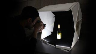 在家也能拍出高质感商品照!Foldio 3携带式摄影棚