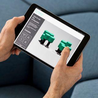 挥手变形的魔法智能沙发Lift-Bit