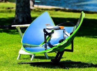 太阳能炉灶SolSource Sport 户外旅游爱好者的首选