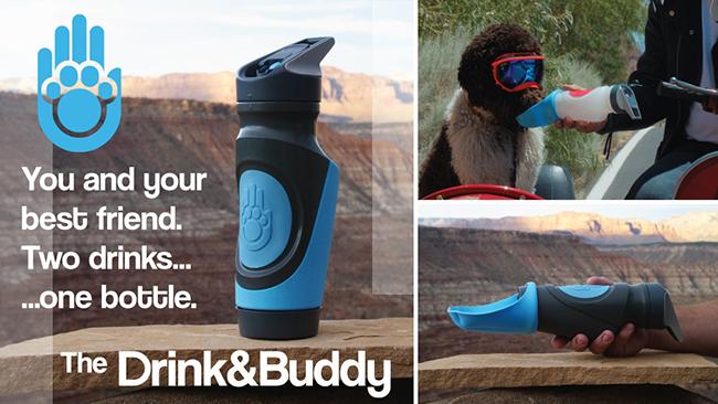 带一瓶就够!Drink & Buddy让你和狗狗都能解渴
