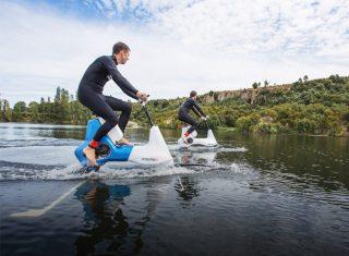 能浮在水面上的电动自行车Manta5