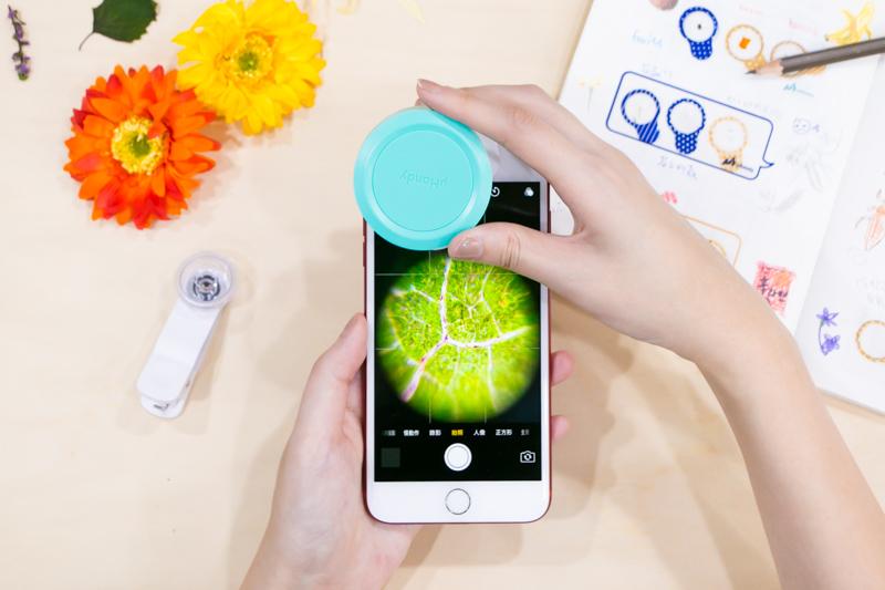 让手机秒变显微镜!uhandy行动显微镜带你游微观世界,开发你的生活新视角