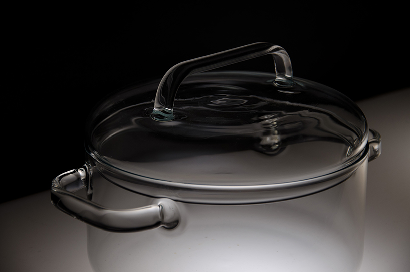 huy pham透明蒸煮罐 玻璃技术制作而成