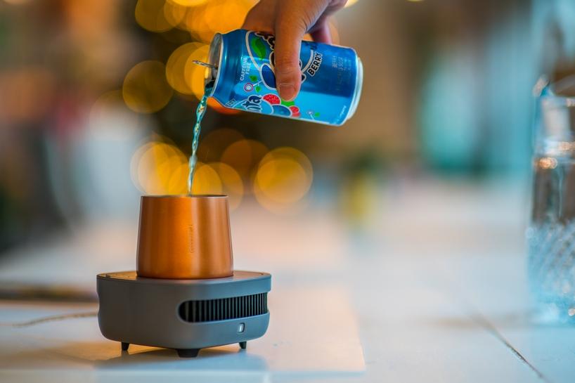 有了CupCooler |Instant|这个制冷杯,冰箱都不想用