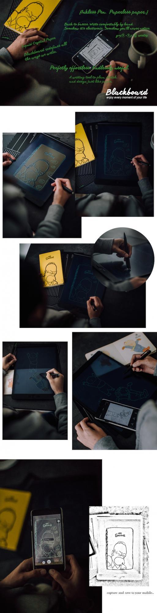 不只绘图工作!全方面应用于生活中的「BlackBoard 透明手写涂鸦板