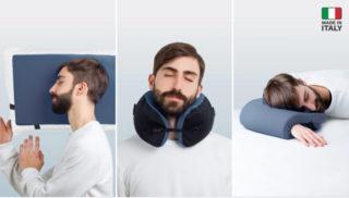 100% 意大利出产!多功能颈枕 Omni-Pillow 让你有个好睡眠
