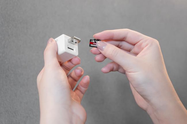 懒人必备的备份神器 Qubii备份豆腐 ,只要会充电就能备份啦!