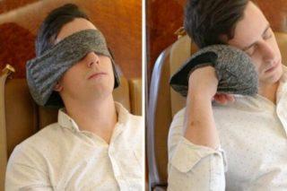 Voyage Pillow旅行枕,让你让你午休睡眠更优质(还能当眼罩)