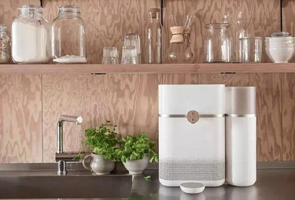 在家也能制作矿泉水的智能设备