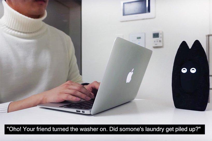 Fribo机器人将你在家中的活动共享给好友  2018-04-07