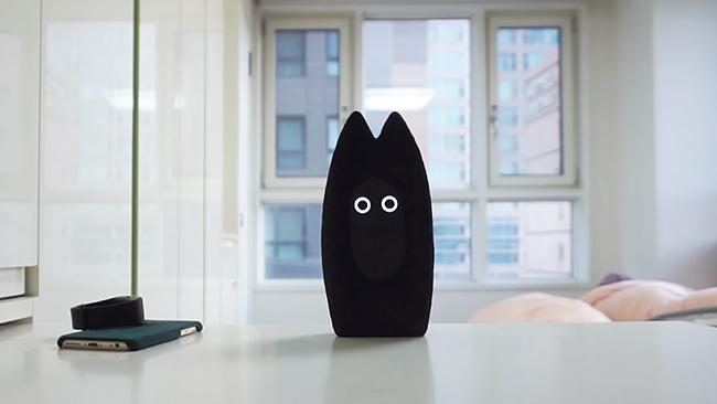 黑猫机器人Fribo,用AI科技找回人际关系