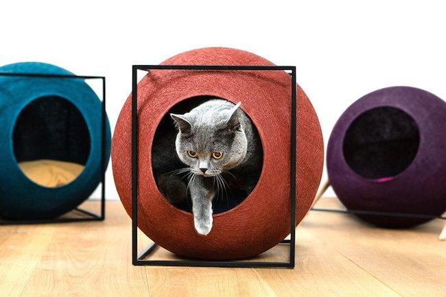 MEYOU~时尚造型猫跳台,兼顾主子欢心与空间质感
