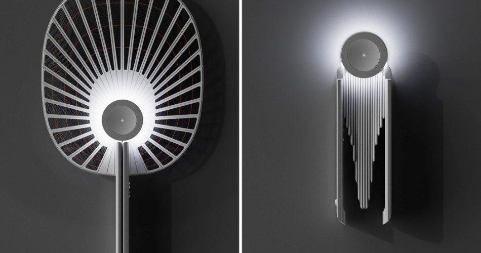 如工藝品的可摺疊電蚊拍FOLD!韓國設計師以傳統扇子為靈感的美感電蚊拍設計